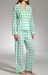 Cotton Voile Gingham Pajama