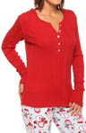 PJ Salvage Cozy Up Long Sleeve Shirt cozls3