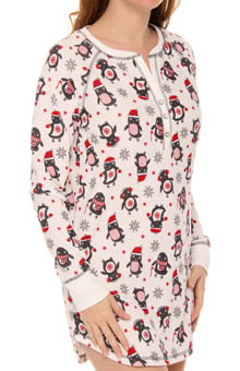 Cozy Up Penguin Night Shirt