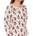 PJ Salvage Cozy Up Penguin Night Shirt cozns