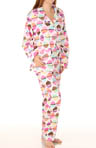 Cupcake Parade Flannel PJ Set
