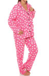 Hearts Flannel PJ Set