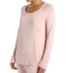 PJ Salvage Rayon Basics Long Sleeve Top IKRAYLS