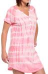 Pink Dyes Nightshirt