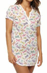 PJ Salvage Fresh Cuts Dragonfly Nightshirt KFRENS1