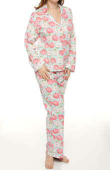 Playful Apples Print PJ Set