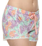 Power Pastels Flower Shorts