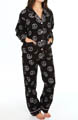 Fall Into Flannel Daisies and Peace Pajama Set Image