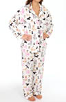 PJ Salvage Fall Into Flannel Dog Days Pajama Set MDOGPJ