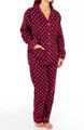 Fall Into Flannel Dots Pajama Set Image