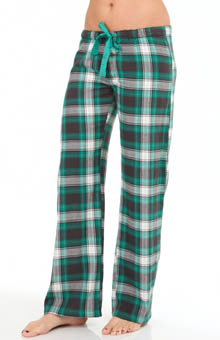 PJ Salvage Enchanted Plaid Print Sleep Pant