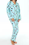 PJ Salvage Holiday Snowflake Dog Pajama Set MHDOGPJ