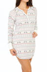 PJ Salvage Fair Isle Thermal Nightshirt MHFAINS