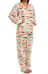 PJ Salvage Moustaches Pajama Set MHFLAPJ