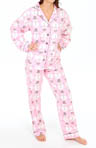 PJ Salvage Holiday Snowman Pajama Set MHSNOPJ