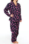 PJ Salvage Fall into Flannel Kissy Print Pajama Set MKISPJ