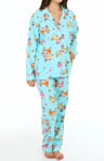 PJ Salvage Fall Into Flannel Monkey Bus Pajama Set MMONPJ
