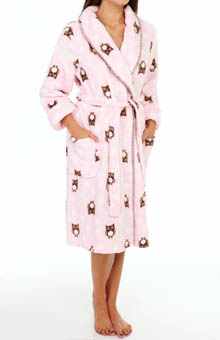 PJ Salvage Printed Owl Robe MPRIR3