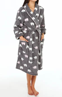 PJ Salvage Printed Elephant Robe
