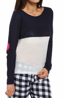 PJ Salvage Queen of Hearts Heart of the Sleeve Sweater NQUELS3