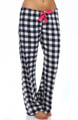 Queen of Hearts Plaid Pant Image