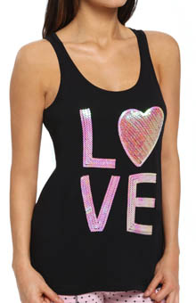 PJ Salvage Young at Heart Love Tank NYOUTK1