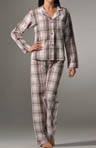Olive Outing Cotton Poplin Plaid PJ Set