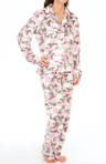 PJ Salvage Plush Polar Camo Fleece Pajama Set PLUPJ1