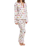 PJ Salvage Playful Prints Donut PJ Set PPLAPJ1
