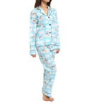 PJ Salvage Playful Prints Flying Pug PJ Set PPLAPJ2