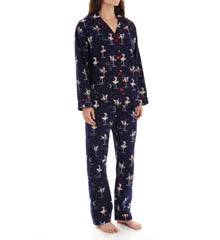 PJ Salvage Fall Into Flannel Cheers PJ Set RCHEPJ