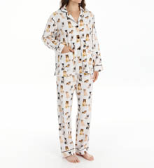 PJ Salvage Fall Into Flannel Classic Dogs PJ Set RCLAPJ