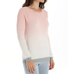 PJ Salvage Girly Skull Long Sleeve Ombre Thermal Top RGIRLS2
