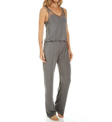 PJ Salvage Luxe Soft Lace Long Romper RMODR