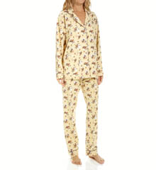 PJ Salvage Fall Into Flannel Western Classic PJ Set RWESPJ