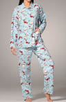 Santa Paws Cotton Flannel PJ Set