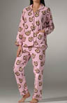 Lucky Stallion Flannel Pj Set