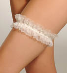 Pleasure State White Label Hidden Veil Garter 13-2195