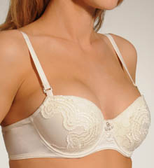 White Label Hidden Veil Balconnet Contour Bra