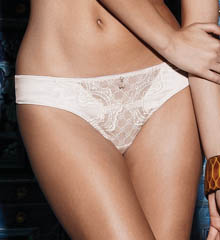 White Label Hidden Veil Thong