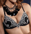 White Label Chateau Plunge Push Up Bra