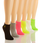 RL Sport Ped Sock - 6 Pair Pack