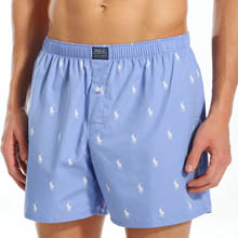 Polo Player Print Boxer
