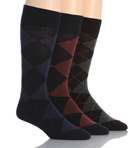 Classic Argyle Cotton Sock 3 Pack