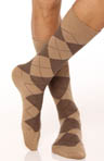 Polo Ralph Lauren Argyle XL Slack Socks - 3 Pack 8091XLE