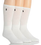 Polo Ralph Lauren Cushioned Classic Cotton Crew Socks - 3 Pack 821032