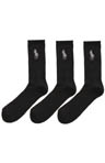 Polo Ralph Lauren Big Pony Technical Crew Socks - 3 Pack 821059