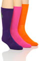 Polo Ralph Lauren Big Pony Technical Crew Socks - 3 Pack 821059PK