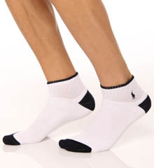 Cushioned Cotton 1/4 Top Sock 3 Pack