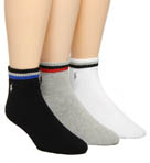 Polo Ralph Lauren 3 Pack Cotton Fully Cushioned Cuff Socks 824011PK